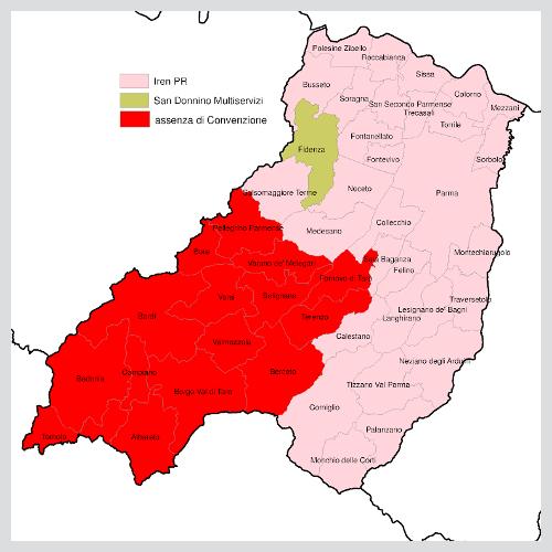 Territorio provinciale di Parma | ATERSIR